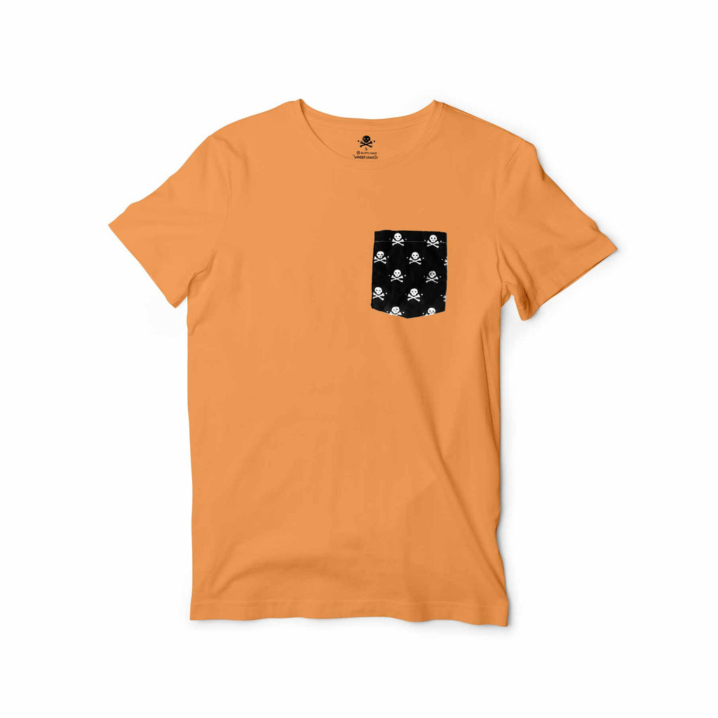 Pockets With Purpose - Sunset Orange Pocket Tee