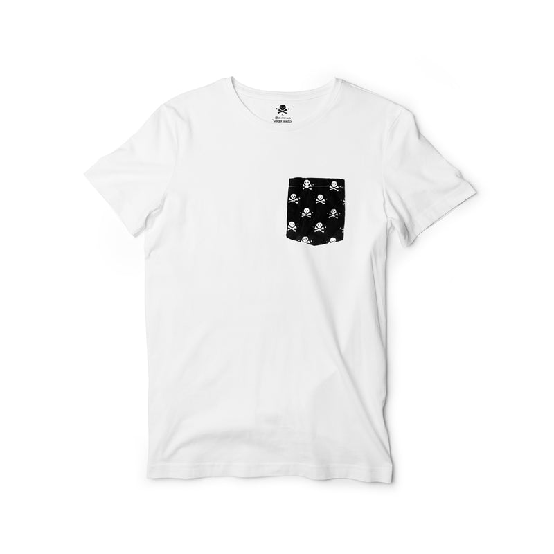 Pockets With Purpose - Coconut White Pocket Tee