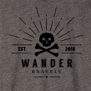 Vintage Jersey Crew T-Shirt - Wander Bravely