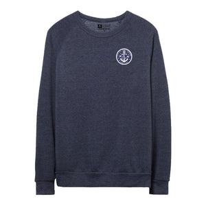 Fleece Crewneck Sweatshirt - Not All Who Wander Are Lost