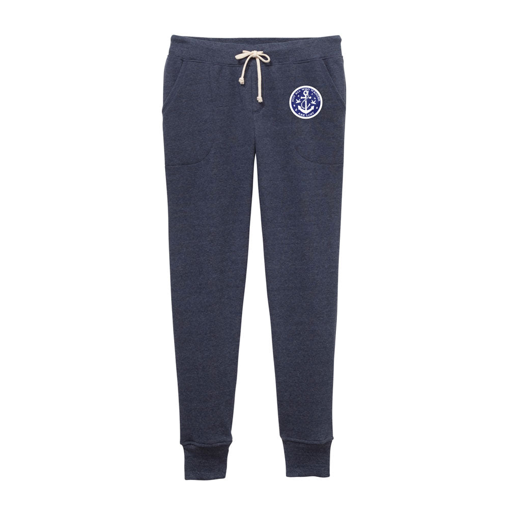 Women's Fleece Jogger - Not All Who Wander Are Lost