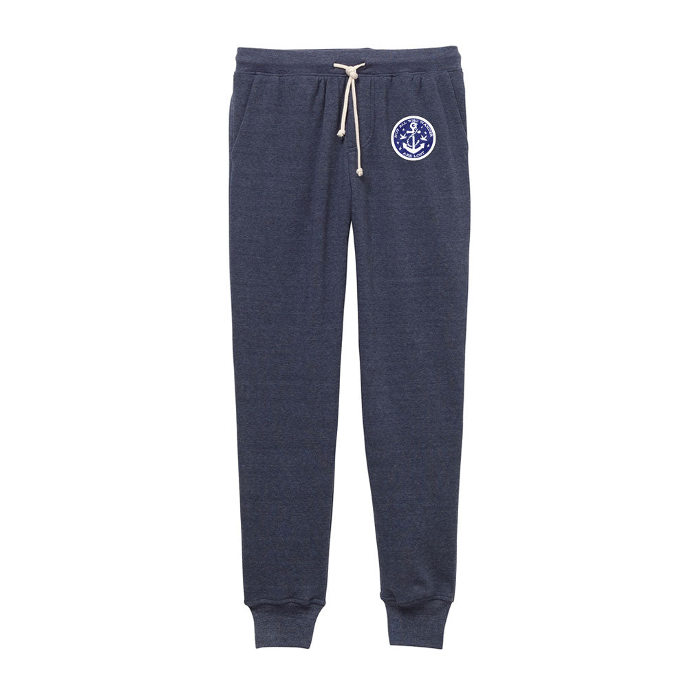 Men's Fleece Jogger - Not All Who Wander Are Lost