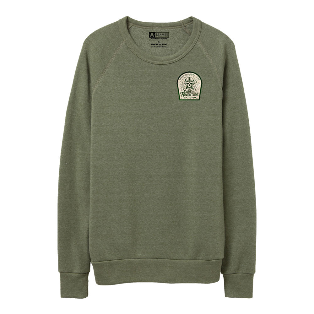 Fleece Crewneck Sweatshirt - Grand Explorers Club