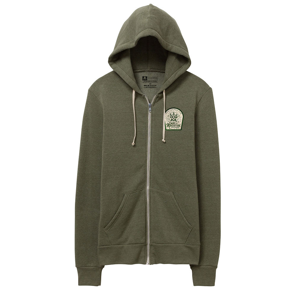 Fleece Hoodie Sweatshirt - Grand Explorers Club