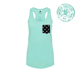 Pockets With Purpose - Seafoam Racerback Tank