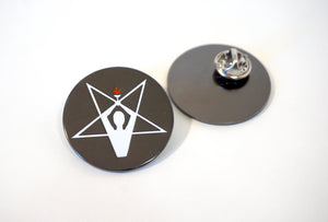 """Prometheus"" Pentagram 1.25"" Hard Enamel Pin"