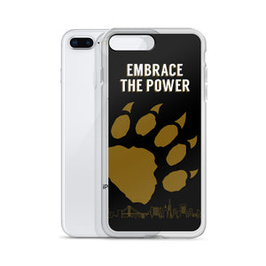 GP Big Paw in Black Back iPhone Case