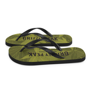 GP Flower Pattern Flip-Flops