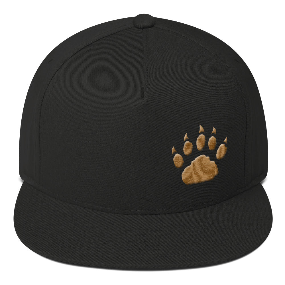 GP Paw Icon Flat Bill Cap