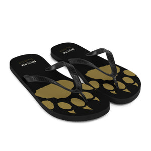 GP Paw in Black Flip-Flops