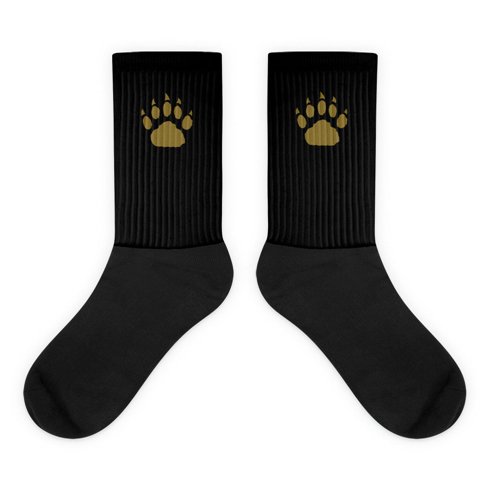 GP Paw Icon Black Socks