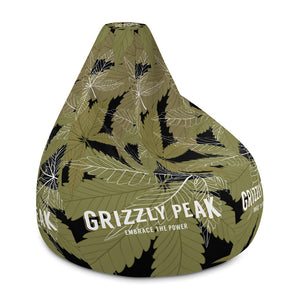 GP Sitting Flowers All-Over Print Bean Bag Chair
