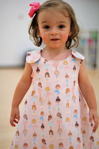 Pink Ballerina Reversible Dress