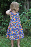 Fall Leaves Reversible Dress