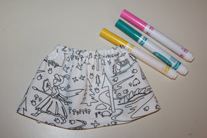 Color Me Doll Skirt