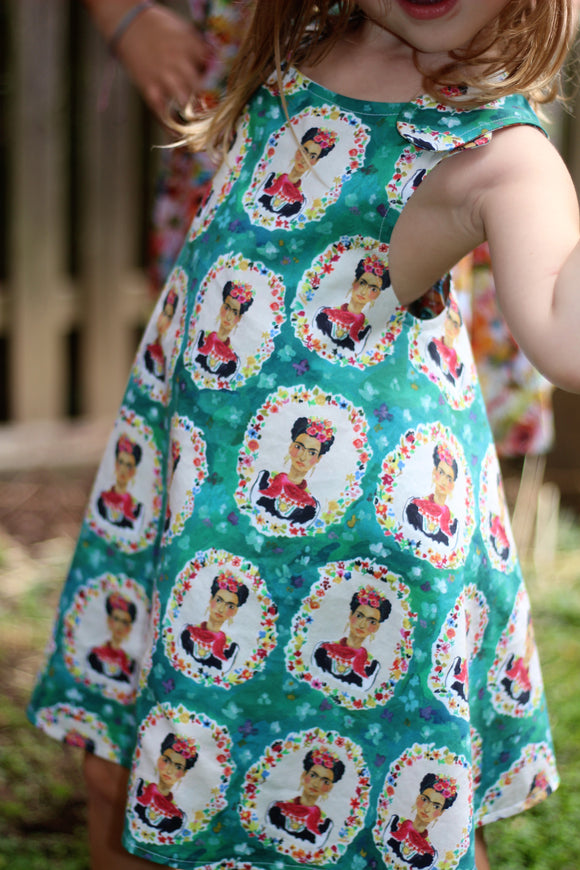 Frida Kahlo Reversible Dress