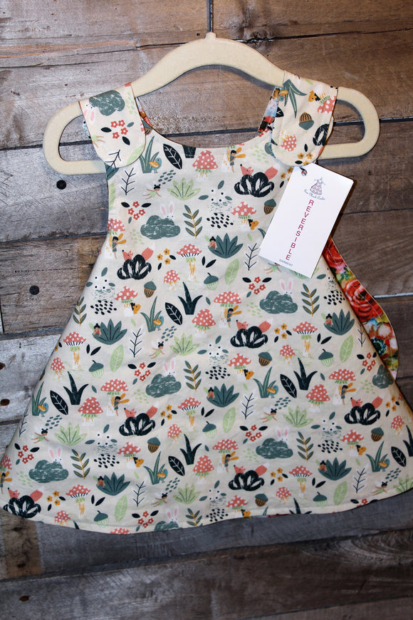 Peekaboo Garden Reversible Dress
