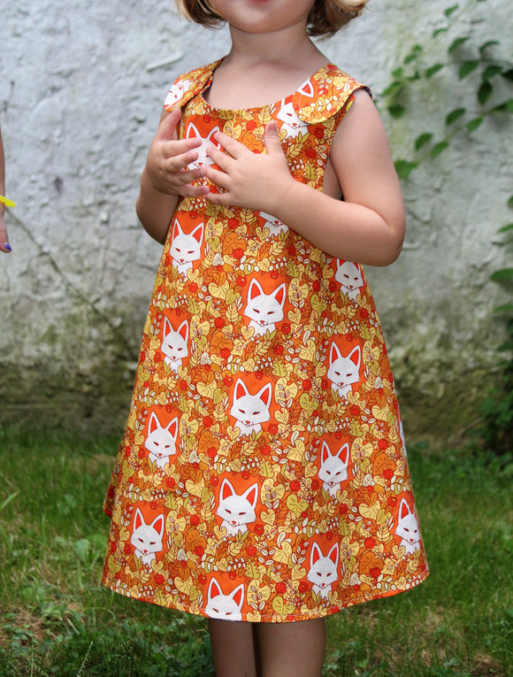 Foxes Reversible Dress