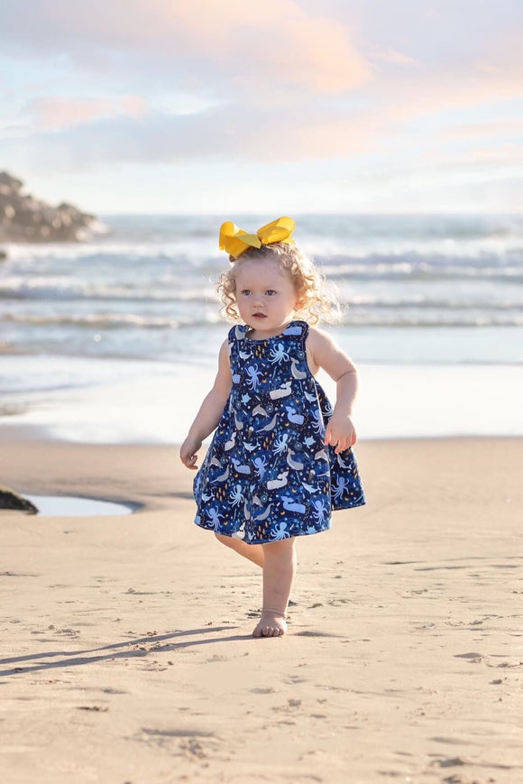 Sea Life Reversible Dress