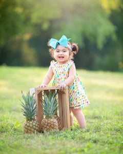 Pineapple Reversible Dress