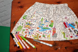 Color Me Skirt - Warrior Princess