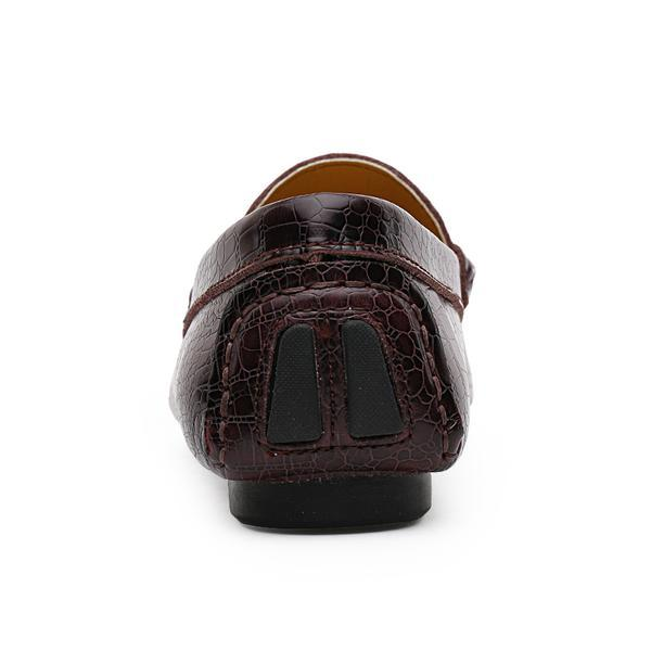 80be65e326ae4 ... Crocodile Loafers Men Luxury Handmade Genuine Leather Driving Shoes ...