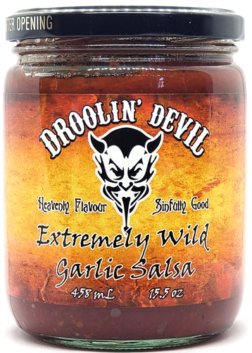 Droolin' Devil Extremely Wild Garlic Salsa