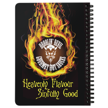 "Droolin' Devil ""Fire In The Hole"" Spiral Notebook"