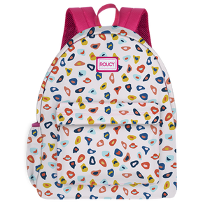 Abstract Bubbles Pink Backpack - Roucy