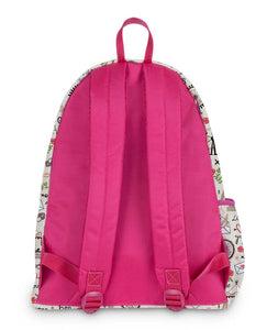 All About Paris Pink Backpack - Roucy