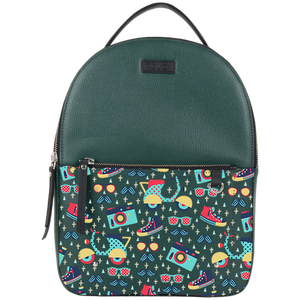 All Men Thing Green Round Backpack Bag