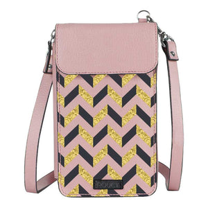 All Ways Down Pink Premium Mobile Sling Bag