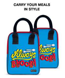 Always Bhookha Trapeze Lunch Bag