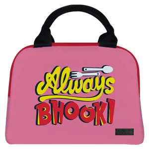 Always Bhookhi Briefy Lunch Bag - Roucy