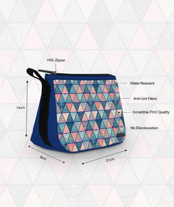 Angular Patterns Travel Pouch - Roucy