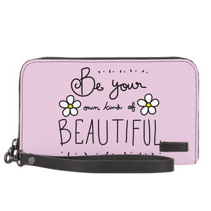 Beauty Of Your Own Jade Black Women's Clutch - Roucy