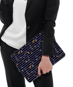 "Bees On Strands Laptop Sleeve 15"" - Roucy"