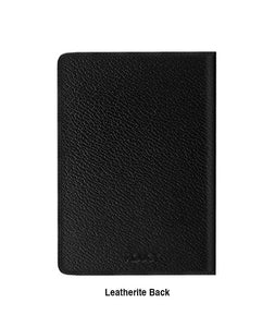 Boho Free Spirit Black Designer Notebook - Roucy
