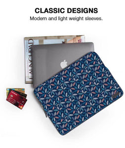 "Bunch Of Leaves Laptop Sleeve 15"" - Roucy"