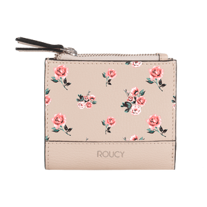 Bunches Double Zip Fold Wallet - Roucy