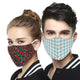 Unisex Reusable Fabric Mask Set of 3 Combo15