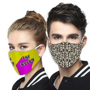 Unisex Reusable Fabric Mask Set of 3 Combo9