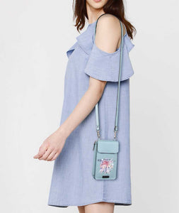 Catch The Dream Blue Premium Mobile Sling Bag