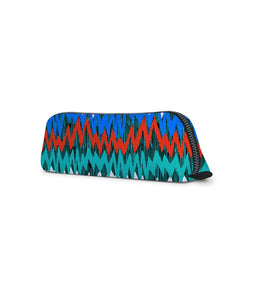 Colorful Heartbeats Jade Black Essential Pouch - Roucy