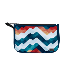 Coloured Waves Travel Pouch - Roucy