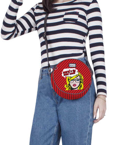 Comic Nerd Circlet Crossbody Bag