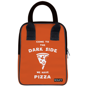 Dark Pizza Lunch Trapeze Lunch Bag