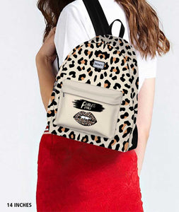 Fearless Skin Black Backpack - Roucy
