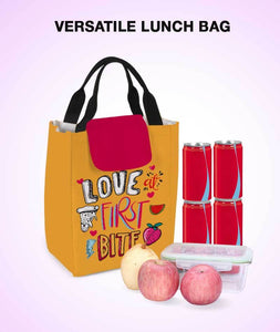First Bite Love Lunch Bag - Roucy