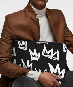Fix Your Crown Laptop Sleeve - Roucy